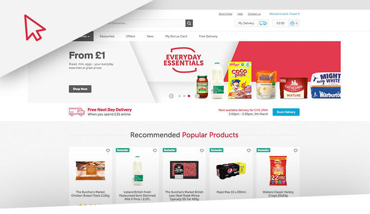 New To You >> Welcome To A New And Improved Iceland Online Iceland Foods