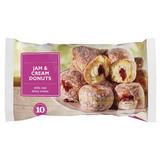 10 Jam & Cream Donuts 520g