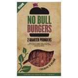 2 No Bull Quarter Pounder Burgers 226g