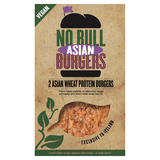 2 No Bull Vegan Asian Burgers 200g