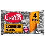 4pk Cornish Pasty 520g