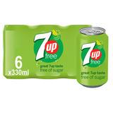 7UP Free 6 x 330ml