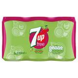 7UP Free Cherry 6 x 330ml
