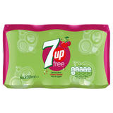 7UP Free Cherry Can 6x330ml