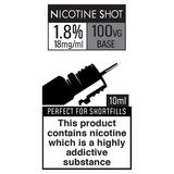 88Vape 1.8% Nicotine Shot 10ml