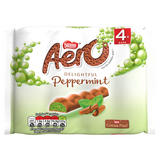 Aero Peppermint Mint Chocolate Multipack 27g 4 Pack