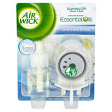 Air Wick Scented Oil Diffuser & Refill Crisp Linen & Lilac 12ml