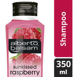 Alberto Balsam Sunkissed Raspberry fresh and fruity Shampoo for all hair types 350 ml