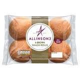 Allinson's 6 Brown Snack Rolls