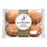 Allinson 6 Brown Snack Rolls