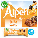 Alpen Light Bars Jaffa Cake Multipack 5x19g