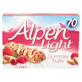 Alpen Light Bars Summer Fruits Multipack 5x19g