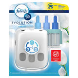 Febreze With Ambi Pur 3Volution Air Freshener Plug-In Starter Kit Cotton Fresh 20ML