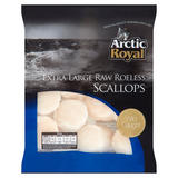 Arctic Royal Extra Large Raw Roeless Scallops 500g
