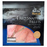 Arctic Royal 4 Red Snapper Fillets 480g
