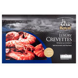 Arctic Royal Luxury Crevettes Whole & Cooked 630g