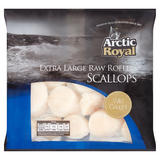 Arctic Royal Extra Large Raw Roeless Scallops 300g