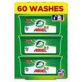 Ariel 3in1 Pods Original Washing Liquid Capsules 60 Washes