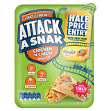 Attack a Snak Chicken 'n Cheese Wrap Kit with Tomato Ketchup 99g