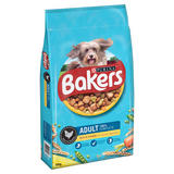 Bakers Adult Dry Dog Food Chicken and Veg 14kg