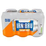 IRN-BRU Sugar Free 6 x 330ml Cans