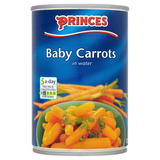 Princes Baby Carrots in Water 400g