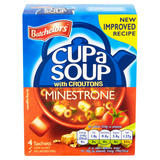 Batchelors Cup a Soup Minestrone with Croutons 4 Pack 94g