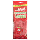 Bebeto Strawberry Laces 250g
