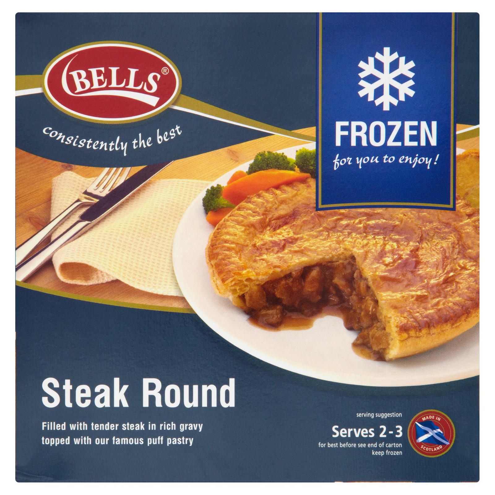 Bells Steak Round | Pies & Puddings | Iceland Foods