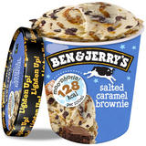 Ben & Jerry's Moo-phoria Salted Caramel Brownie Ice Cream Tub 500ml