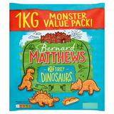 Bernard Matthews 20 Turkey Dinosaurs 1kg