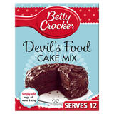 Betty Crocker Devil's Food Chocolate Cake Mix 425g