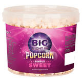 The Big Night In Popcorn Simply Sweet 250g