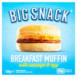 Big Snack Breakfast Muffin with Sausage & Egg 150g