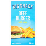 Big Snack Beef Burger with Chips 203g