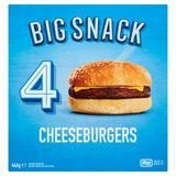 Big Snack 4 Cheeseburgers 446g