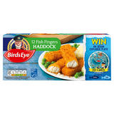 Birds Eye 12 Haddock Fish Fingers 336g