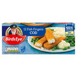 Birds Eye 12 Fish Fingers Cod 336g