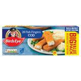 Birds Eye 28 Fish Fingers Cod 784g
