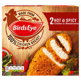 Birds Eye 2 Hot & Spicy Chicken in Breadcrumbs 180g