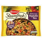 Birds Eye 2 Steamfresh Mediterranean Vegetable Rice 380g