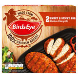 Birds Eye 2 Sweet & Sticky BBQ Chicken Chargrills 174g