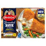 Birds Eye 2 Omega 3 Breaded Fish Fillets 200g