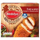 Birds Eye 2 Hot & Spicy Chicken in Breadcrumbs 180g