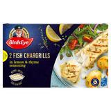Birds Eye 2 Fish Chargrills in Lemon & Thyme Seasoning 300g