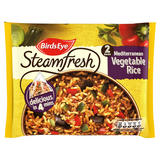 Birds Eye Steamfresh Mediterranean Vegetable Rice 2 Bags 380g