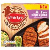Birds Eye 2 Soy, Ginger & Garlic Chicken Chargrills 174g