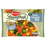 Birds Eye Steamfresh Family Favourite Mix 4 Bags 540g