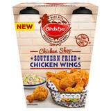 Birds Eye Chicken Shop Southern Fried Chicken Wings 500g