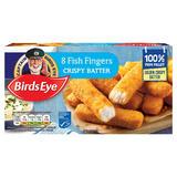 Birds Eye 8 Fish Fingers Crispy Batter 224g